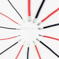 Wholesale 28AWG Black Color Soft Silicone Wire m with EU ROHS and REACH Directive standards Dropship