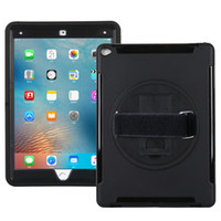 apple ipad cases and skins - Apple iPad Pro Shockproof Shoulder Case Headrest Mount Holder with a Degree Swivel Kickstand a Hand Grip Belt and an Adjustable
