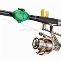 automatic buffer - Hot Outdoor Automatic Buffer Electronic LED Light Fish Bite Alarm Bell Clip On Fishing Rod Volume Adjust Automatically Range m