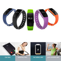 android os smartphone - E MI ID107 Bluetooth Smart Bracelet smart band Heart Rate Monitor Wristband Fitness Tracker for Android iOS Smartphone