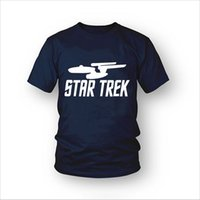 Wholesale Star Wars Star trek Printed Mens Men Fashion t shirt New Short Sleeve O Neck Cotton T shirt Tee Camisetas Hombre