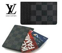 Wholesale 2016 fashion Man s woman louis wallet monogram checked MICHAEL KOR Credit Card Wallet N62666 N61722 N58024 N51106