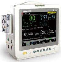Wholesale modular patient monitor portable inch color LCD parameters ECG SpO2 NIBP Respiration PR Temperature rechargeable Lithium battery