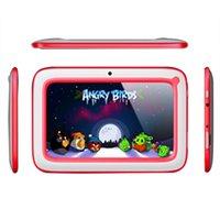Bon Marché Wifi gros-7 pouces Android Tablet PC 4.4.2 Enfants pour les enfants avec caméra Wifi double 512RAM 8 Go ROM tablet pc pour gros cadeau Enfants B-QPB