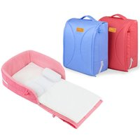 Wholesale new arrival baby portable crib baby travel bed folding multifunctional Mummy storage bag for newborn infant nappy cloth and toys etc