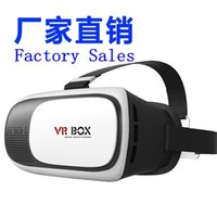 Wholesale Virtual Reality D VR Box Head Mount Plastic D Glasses And Bluetooth Gamepad For Inch Mobile Phone With Retail Package