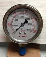 Wholesale ALL Stainless Steel Pressure Gauge Meter Manometer kg cm2 psi