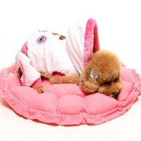 Wholesale Soft dog kennel nest lovely pet dog house washable PP cotton puppy cat house