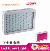 best tents - 1pcs Full Spectrum W LED Grow Light AC85 V Double Chip Led Plant Lamps Best Indoor Grow Tent For Growing and Flowering
