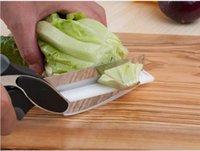 kitchen set - 2016 DHL SEND HOT AMAZION Clever Cutter in Knife Cutting Board Scissors kitchen sicssors FREE