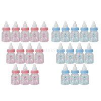 baby shower fillable - SPMART Small Fillable Candy Bottle Baby Shower Favors
