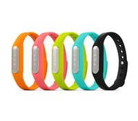 Wholesale Bluetooth Smart sports bracelet wrist strap waterproof fitness heart rate monitor sleep clock watch wristband Android iOS