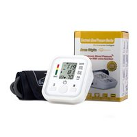 ac pressure gauges - Electronic Portable Digital Blood Pressure Monitor Pumps Device Apparatus For Gauge Heart Rate Medical Tonometer
