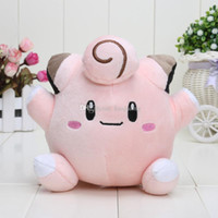 Wholesale New Pocket Pikachu Center Clefairy Plush Toy Stuffed Doll Soft Baby Toy kids toys approx cm