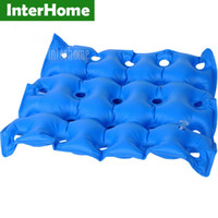 bedsore prevention - Medical Home Seat Cushion Inflatable Seat Cushion Wheelchair Square Porous Anti hemorrhoids Buttocks Massage Bedsore Prevention