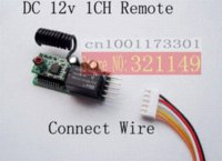 Wholesale 12V CH RF Wireless remote control switch system Momentary wireless switch controller switch V1CH A