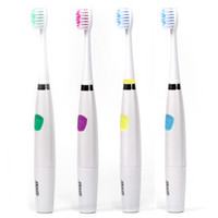 battery power toothbrush - Seago SG Sonic Electric Toothbrush Whiten Teeth Gums Protection strokes per minute Battery Power Soft bristled brush head