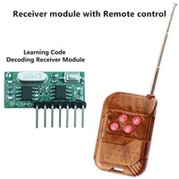 Wholesale Mhz Remote Control and Mhz Wireless Receiver Learning Code Decoding Module Ch output With Learning Button