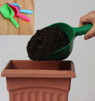 best vegetable gardens - Plastic Soil Spoon Vegetable Flower Gardening Tool Digging Shovel Good Helper Your Best Choice