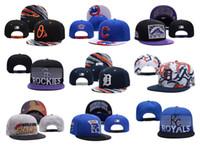 baseball caps chicago - Baltimore Orioles Baseball Caps Snapback Chicago Cubs Adjustable Cap Colorado Rockies hats Detroit Tigers Cap Kansas City Royals hat