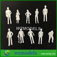 architectural model building - 100pcs white figure cm high scale for architectural model building