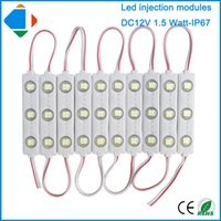advertising signboard - 50pcs super brightness w injection smd5050 leds waterproof led sign modules for led signboard module light For Advertising Lamp