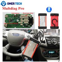 Cheap Wholesale-Multidiag Pro+ Bluetooth Diagnostic Tool Like As TCS CDP Auto Scanner for Cars Trucks 2016 R3 Without Keygen Free Activate