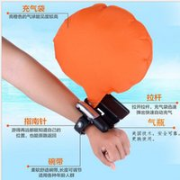 Wholesale Sports Accessories Anti drowning Wrist Lifesaving Emergency Life saving Swimming Underwater Submersible Self Bracelet for Adult Safety Equip