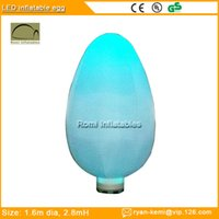 Wholesale Color changing LED lighting inflatable egg LED decorative Inflatable for party events