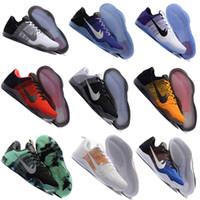 band lower - 2016 Kobe XI Elite Low Basketball Shoes Men Original New Arrival Sneakers Cheap Retro Weaving Kobe Sport Boots Size Eur