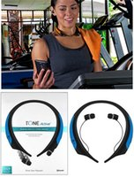 active super - New HBS850 Premium Wireless Headphone Super Bass Bluetooth Sports Neckband Tone Active Stereo Headsets In ear Earphone VS HBS800 HBS900 DHL