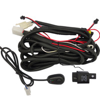 Wholesale EEMRKE Only for Angel Eyes Fog Lights Lamp Wire Kits