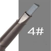 best brow liner - Best Selling Waterproof Eyebrow Pencil Pen Eye Brow Liner Cosmetic Makeup Beauty Tool Lasting Gray Color