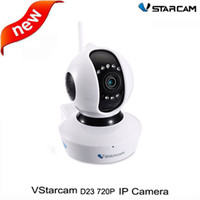 Wholesale Vstarcam D23 P HD IP Camera Surveillance Wireless Camera Remote Control H IR Motion Detection IP Security Camera For Home