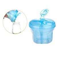 Wholesale 10 Layer Baby Infant Food Milk Feeding Powder Dispenser Container Travel Storage Box Color Random CSY0196