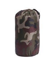 Wholesale Camouflage sleeping bag outdoor camping sleeping bag adult sleeping bags High quality camping portable emergency compact outdoor travel Camo