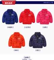 Wholesale 2017 New Han edition children s clothes to keep warm fall and winter cotton padded clothes small boys and girls cotton padded jacket MC0338
