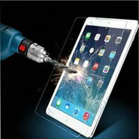 Wholesale 0 mm H Tablet PC Tempered Glass Screen Protector For iPad Mini iPad2 iPad Air Air iPad Pro Explosion proof Film