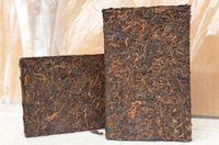 al por mayor la pérdida de peso del té del puerh-Hecho en 2005 Antiguo chino Pu Er té de ladrillo, hecha a mano 250g de Yunnan té maduro, comprimido Puerh del ladrillo, para la pérdida de peso