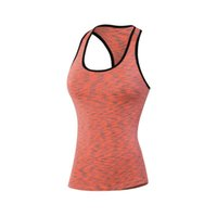 Wholesale Women s Breathable Running Clothes Sleeveless Sport Tank Tops Quick Dry Gym Fitness Sexy Vest