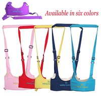 Wholesale 2016 New Product Multifunction AdjustableBreathable Cotton Baby Walking Wings Walking Assistant Belt With Basket Type