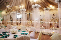 arched curtains - 200cm height acrylic crystal curtain for wedding stage mandap decoration crystal wedding arch for weddings party event