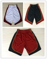 basketball miami - Miami Basketball Shorts Men Cheap Dwyane Wade LeBron James Shorts Basketball Shorts