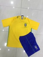 b jerseys - 2015 Soccer jerseys Brazil Yellow Soccer jerseys B Quality Without Brand logo