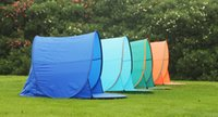 camping tent - Outdoor camping hiking beach summer tent UV protection fully automatic sun shade quick open pop up beach awning fishing tent