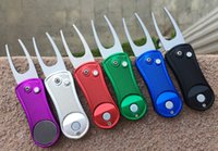 Wholesale MIX OEM Portable Golf Divot Tool Golf Products Good Quality