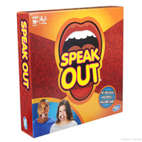 Wholesale Speak Out Best Selling Of Funny Mouth Guard Board Game Party Game Play With Your Friends Christmas Gift Halloween Party Game