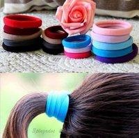 best ponytail holders - Best Sports Elastic Rope Ring Hairband Women Hair Band Ponytail Holder DOS