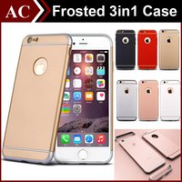 Wholesale Full Body Luxury Ultra Thin Hard PC Case in Frosted Armor Slim Shockproof Cover For iPhone S SE S Plus Removable Skin High Quality