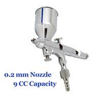 Wholesale Accurate Spray Airbrush mm Nozzle CC Dual Action Spray Gun Kits